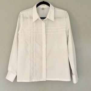 White Button Down Shirt, Size M